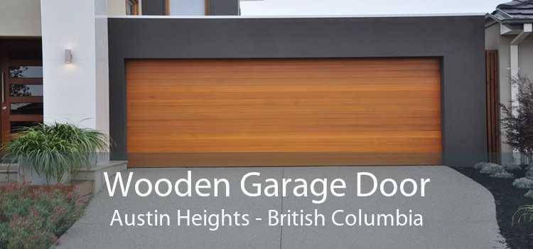 Wooden Garage Door Austin Heights - British Columbia